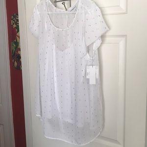 2 piece Liz Claiborne's short sleeve blouse